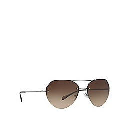 Prada Linea Rossa - Gunmetal PS57RS irregular sunglasses