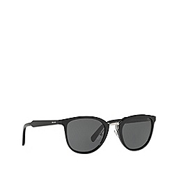 Prada - Black phantos frame grey sunglasses