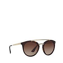 Prada - Brown PR 23SS phantos sunglasses