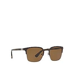Prada - Yellow square PR 61SS sunglasses