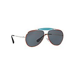Prada - Orange PR56SS pilot sunglasses