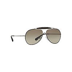Prada - Grey PR56SS pilot sunglasses
