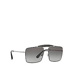 Prada - Black square PR 57SS sunglasses