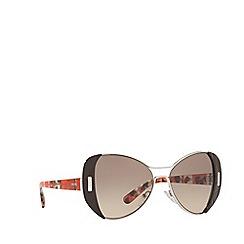 Prada - Brown PR60SS butterfly sunglasses