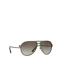 Versace - Matte green VE2171B pilot sunglasses