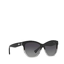 Ralph - Black irregular frame female sunglasses