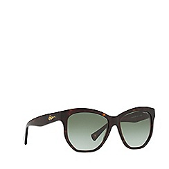 Ralph - Brown RA5219 irregular sunglasses