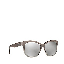 Ralph - Grey irregular frame female sunglasses