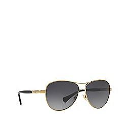 Ralph - Gold pilot frame sunglasses