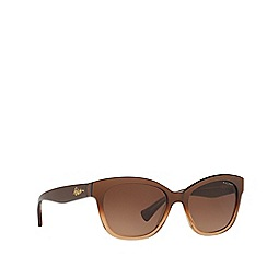 Ralph - Brown cat eye frame sunglasses