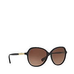 Ralph - Black round frame sunglasses