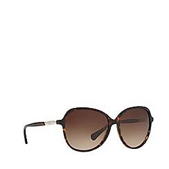 Ralph - Havana round frame female sunglasses