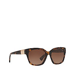 Ralph - Havana square frame female sunglasses