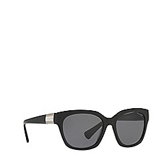 Ralph - Black square frame female sunglasses