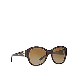 Ralph Lauren - Havana square frame brown sunglasses