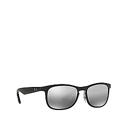 Ray-Ban - Shiny black RB4263 square sunglasses