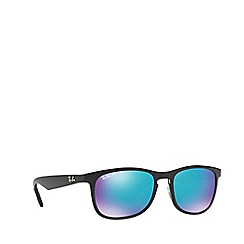 Ray-Ban - Matte black RB4263 square sunglasses