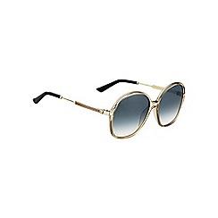 Gucci - Gold GG3844 round sunglasses