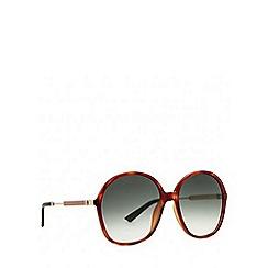 Gucci - Tortoise GG3844 round sunglasses