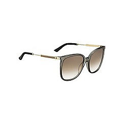 Gucci - Grey GG 3845 rectangle sunglasses
