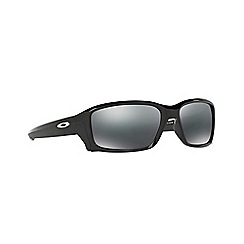Oakley - Black 'Straightlink' OO9331 rectangle sunglasses