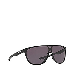 Oakley - Matte black 'Trillbe' OO9318 rectangle sunglasses