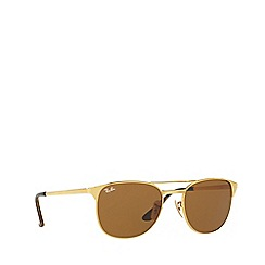 Ray-Ban - Gold RB3429M square sunglasses