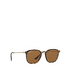Ray-Ban - Havana RB2448N square sunglasses