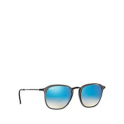 Ray-Ban - Grey RB2448N square sunglasses