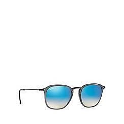 Ray-Ban - Grey square blue lense sunglasses