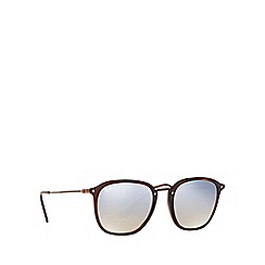 Ray-Ban - Brown RB2448N square sunglasses