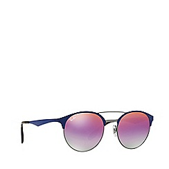 Ray-Ban - Gunmetal round RB3545 sunglasses