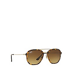 Ray-Ban - Havana RB4273 square sunglasses