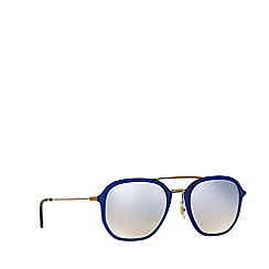 Ray-Ban - Shiny blue RB4273 square sunglasses