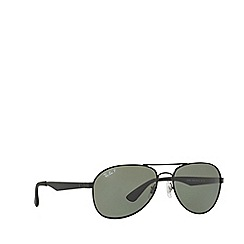 Ray-Ban - Matte black RB3549 pilot sunglasses