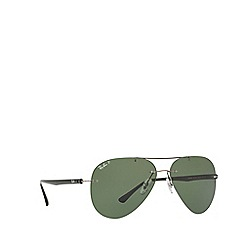 Ray-Ban - Gunmetal RB8058 pilot sunglasses