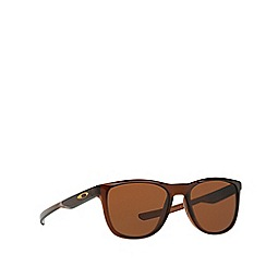 Oakley - Brown 'Trillbe X' OO9340 rectangle sunglasses
