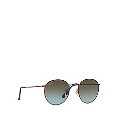 Ray-Ban - Bronze 'Round metal' RB3447 sunglasses