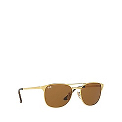 Ray-Ban - Gold 'Signet' RB3429M sqaure sunglasses