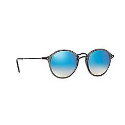 Ray-Ban - Grey phantos frame blue lense sunglasses