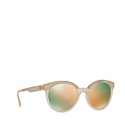 Versace - Pink VE4330 round sunglasses