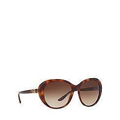 Versace - Havana butterfly frame brown lense sunglasses