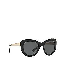 Versace - Black cat eye frame female sunglasses