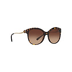 Coach - Dark tortoise cat eye female sunglasses