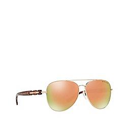 Michael Kors - Pink pilot 'Pandora' sunglasses