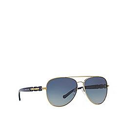 Michael Kors - Gold pilot 'Pandora' sunglasses