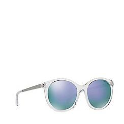 Michael Kors - Clear round 'Island Tropics' sunglasses