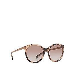 Michael Kors - Havana round 'Island Tropics' sunglasses