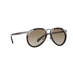 Prada - Havana pilot frame brown lense sunglasses