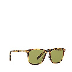 Prada - Havana rectangle frame male sunglasses